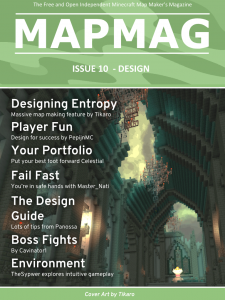 Map Making Magazine Issue 10 cover