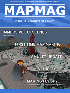 Map Making Magazine - Issue 12 - Flights of Fancy (Cover)